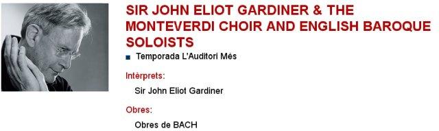 Gardiner en L'Auditori