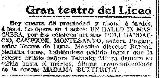 La Vanguardia, 19/12/1920