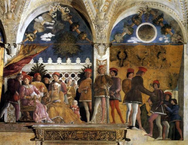 Andrea Mantegna - La Corte de Mantua