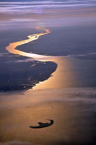 Desembocadura del Elba