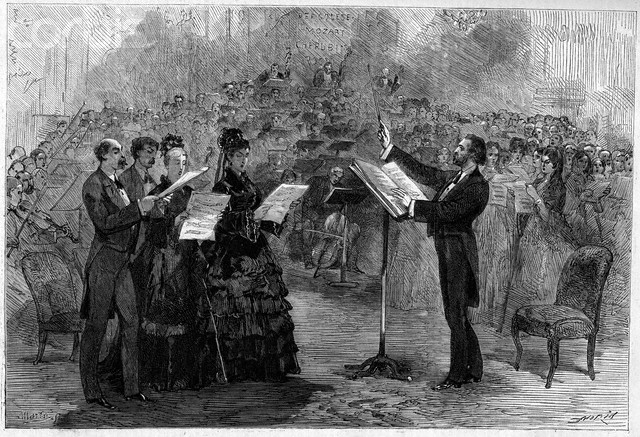 El requiem de Verdi en la Opera-Comique de Paris, 1874