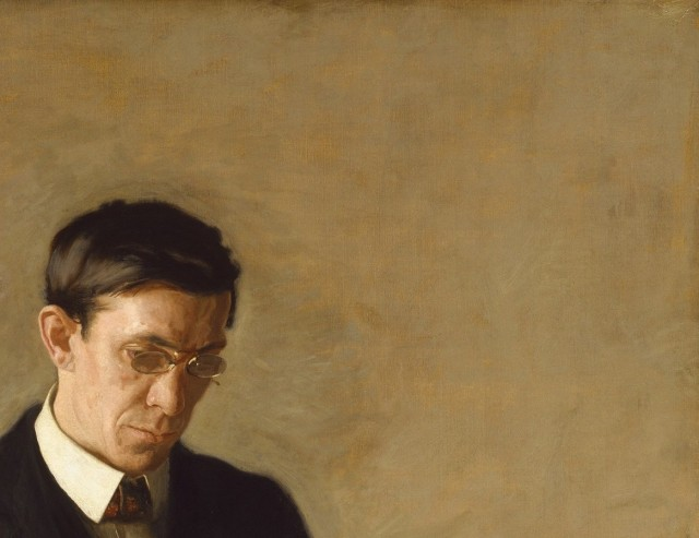 The Thinker - Retrato de L.N.Kenton (Thomas Eakins) (Detalle)