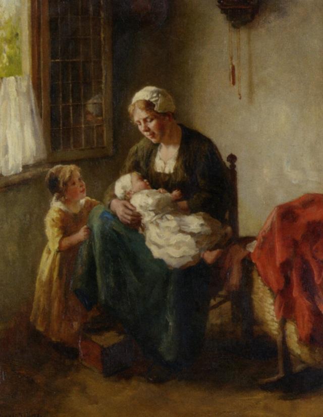 Bernard de Hoog - La madre feliz