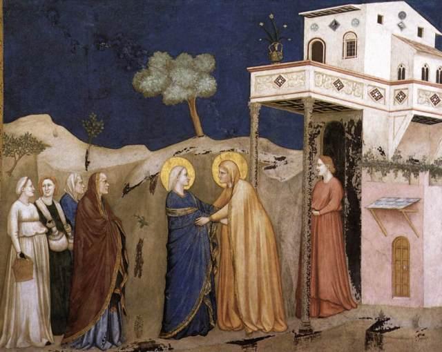 La Visitacion (Giotto)