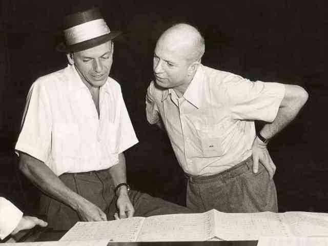 Van Heusen y Sinatra