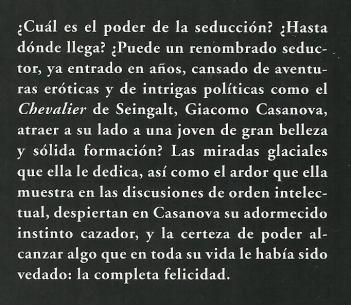 Arthur Schnitzler - El regreso de Casanova -b