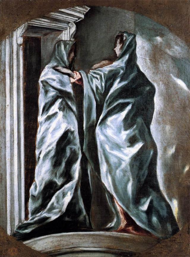 La Visitación - (El Greco)