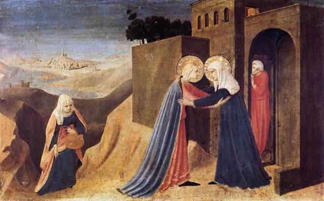 La Visitación (Fra Angélico)
