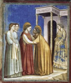 La Visitación (Giotto)