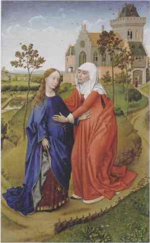 La Visitación (van der Weyden)