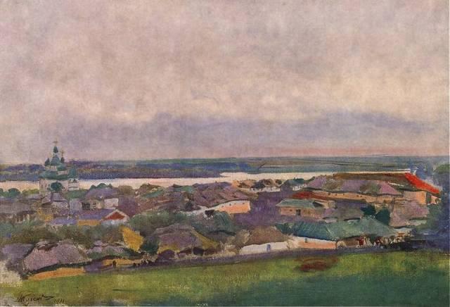 Paisaje ucraniano (Leon Jan Wyczolkowski)