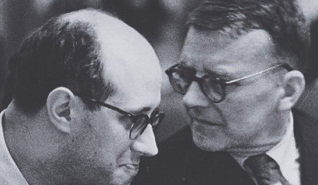 Rostropovich y Shostakovich