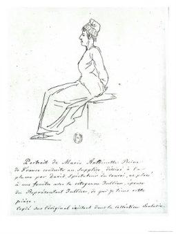Jacques-Louis-David-Marie-Antoinette