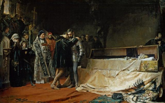 La conversión del duque de Gandía (Moreno Carbonero)