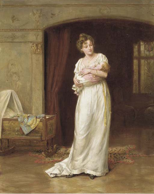 The Lullaby (George Goodwin Kilburne)