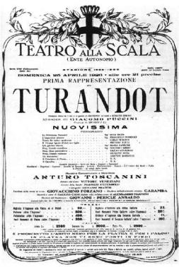 Turandot Scala