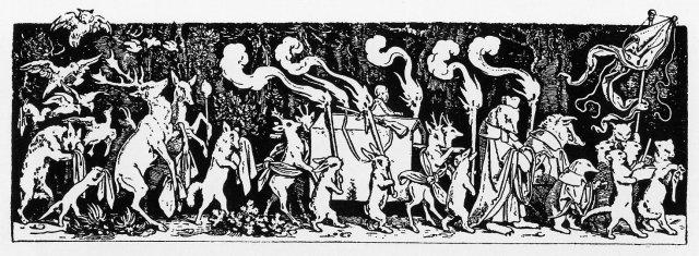 Schwind - El funeral del cazador