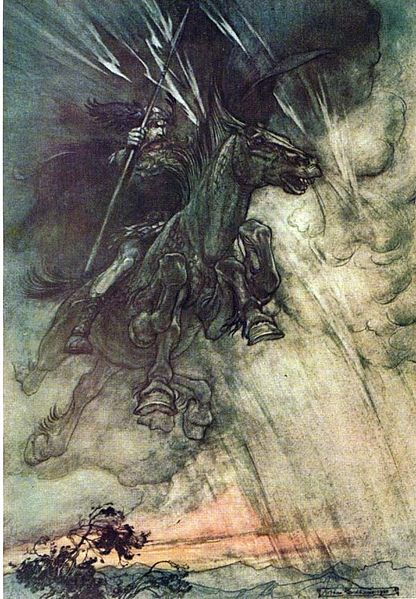 Wotan (Arthur Rackham)