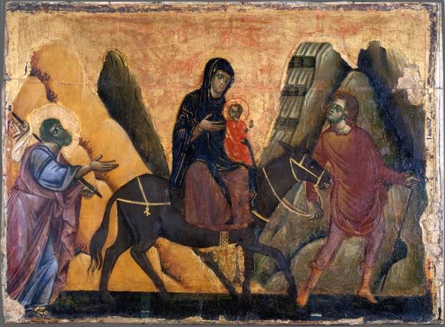 - 1277 Huida a Egipto (Guido da Siena) (1275-1280)