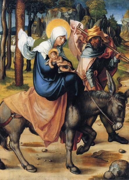 - 1496 Huida a Egipto (Albrecht Dürer) (c. 1496)