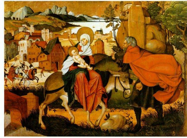 - 1501 La huida a Egipto (Jórg Breu, el viejo) (1501)