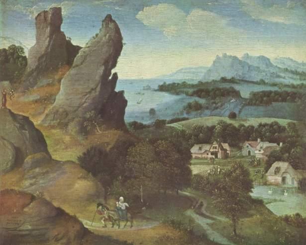- 1515 Huida a Egipto (Joachim Patinir) (1515-1524)