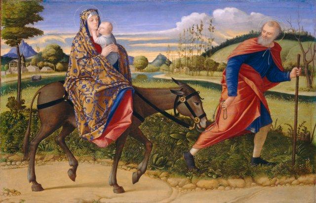 - 1515 La huida a Egipto (Vittore Carpaccio) (c. 1515)