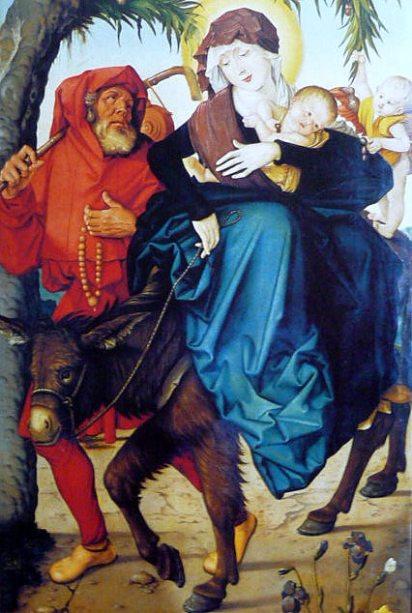 - 1516 Huida a Egipto (Hans Baldung) (1516)