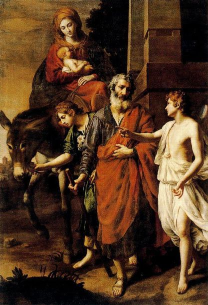 - 1810 Huida a Egipto (Alessandro Turchi) (S XVII)