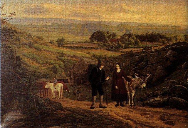 - 1852 Huida a Egipto (Julius Maekel) (1852)