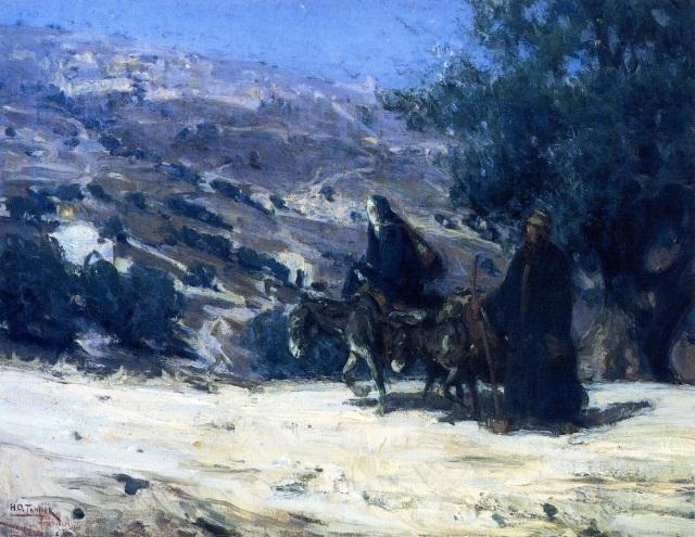 - 1899 Huida a Egipto (Henry Ossawa Tanner) (1899)