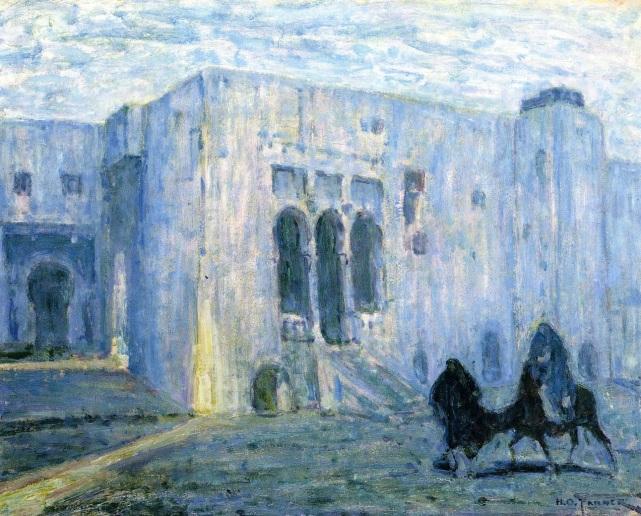 - 1908 La huida a Egipto Palais de Justice, Tangier (Henry Ossawa Tanner) (c.1908)