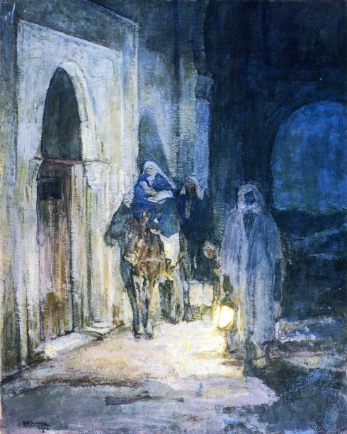 - 1908b 1923 Huida a Egipto (Henry Ossawa Tanner) (1923)