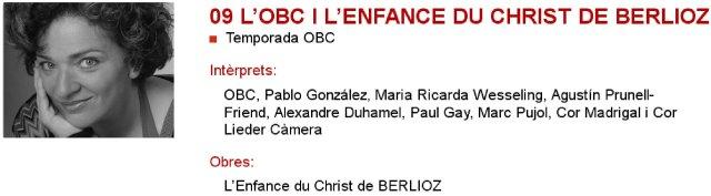 La OBC y L'enfance du Christ de Berlioz en L'Auditori