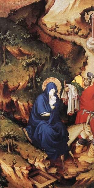 - 1398 La huida a Egipto (Melchior Broederlam) (1398)