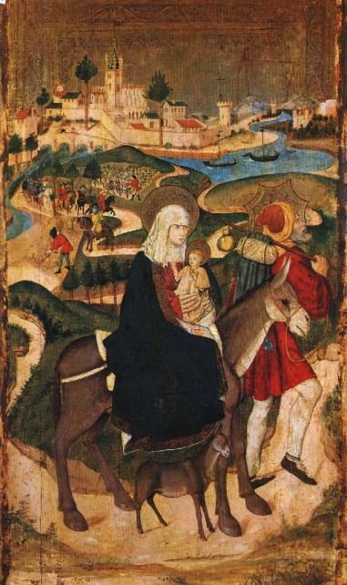 1460 Huida a Egipto Blasco de Grañén y Martín de Soria, 1440-1476