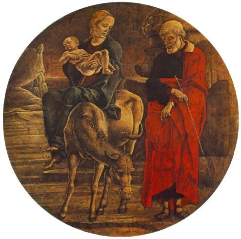 - 1474 Huida a Egipto (Cosmè Tura) (1474)