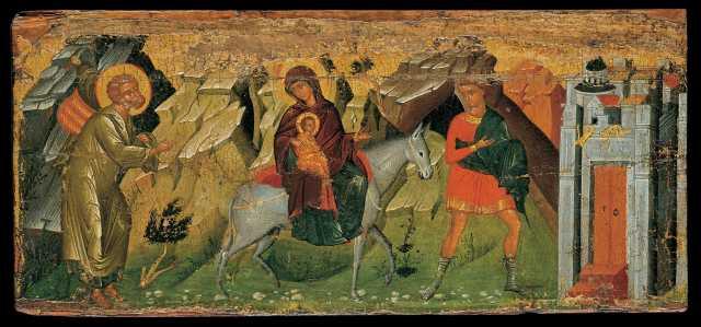 - 1485 La Huida a Egipto (Autor desconocido) (c. 1470-1499)