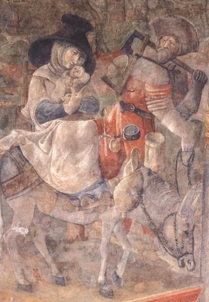 - 1517 Huida a Egipto (Jörg Ratgeb) (1515-21)