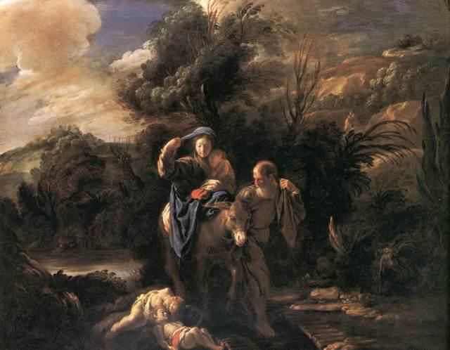 1622 Huida a Egipto (Domenico Fetti) (1621-1623)