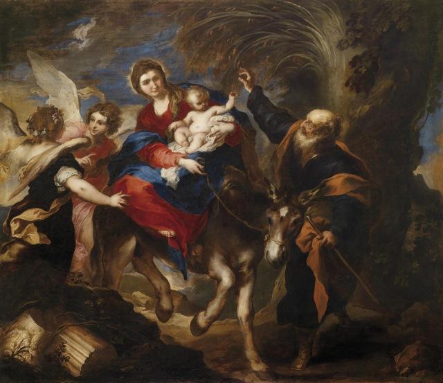 1659 La huida a Egipto (Valerio_Castello) (1659)