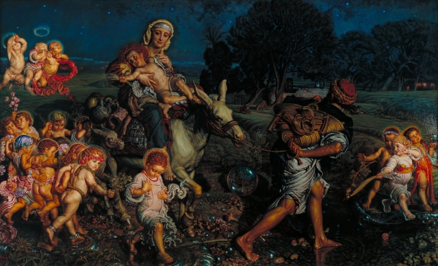 1883 El triunfo de los inocentes (William_Holman Hunt) (c. 1883)