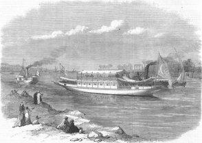 Dahabieh egipcio del Príncipe de Gales (1869)