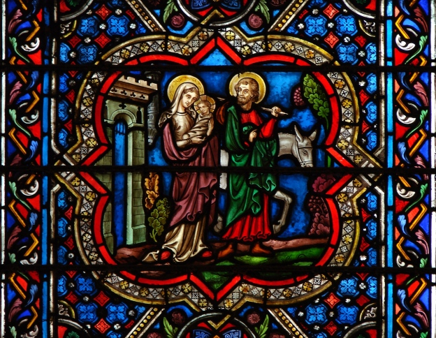 Huida a Egipto  (Notre Dame de Paris)