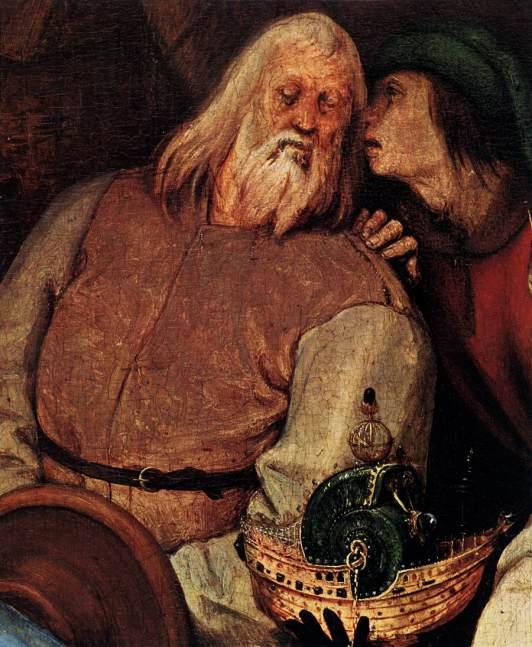 La adoración de los Reyes (Peter Brueghel El Viejo) (1564) 1