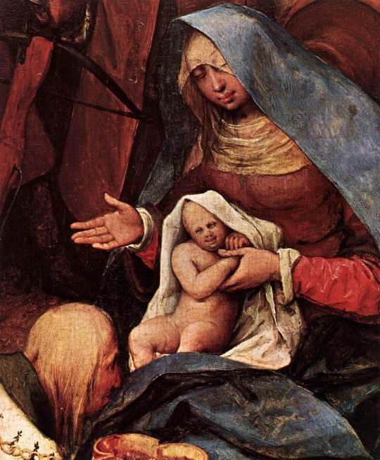 La adoración de los Reyes (Peter Brueghel El Viejo) (1564) 2