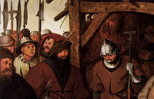 La adoración de los Reyes (Peter Brueghel El Viejo) (1564) 5