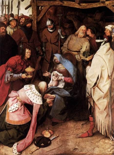 La adoración de los Reyes (Peter Brueghel El Viejo) (1564)