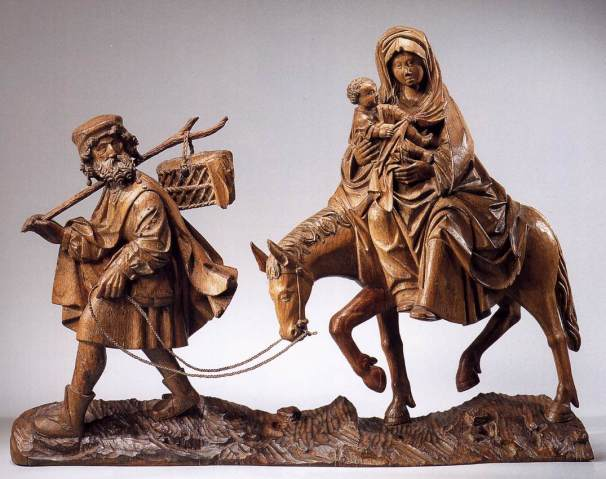 La huida a Egipto (Maestro flamenco desconocido) (c. 1515)