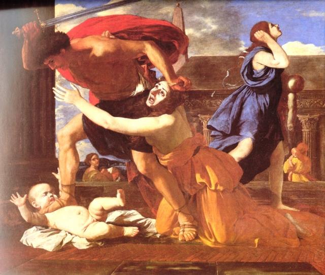 La masacre de los inocentes (Nicolas Poussin)